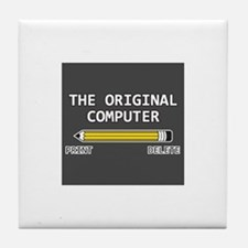 original computer Tile Coaster