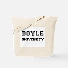 DOYLE UNIVERSITY Tote Bag