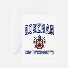 ROSEMAN University Greeting Cards (Pk of 10)