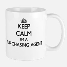 Keep calm I'm a Purchasing Agent Mugs