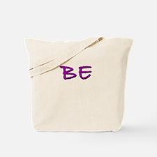 Neon Purple Tote Bag