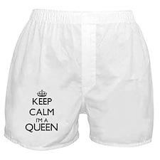 Keep calm I'm a Queen Boxer Shorts