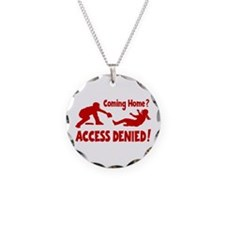 ACCESS DENIED Necklace