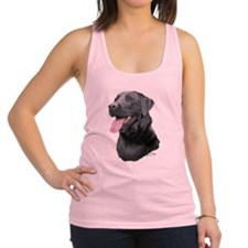 Labrador Retriever (black) Racerback Tank Top