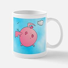 Flying Piggy! Mugs
