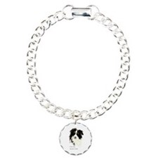 I love my Border Collie Pet Dog Charm Bracelet, On