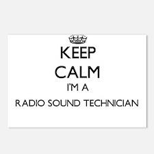 Keep calm I'm a Radio Sou Postcards (Package of 8)