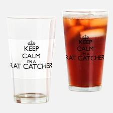 Keep calm I'm a Rat Catcher Drinking Glass