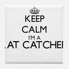 Keep calm I'm a Rat Catcher Tile Coaster
