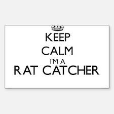 Keep calm I'm a Rat Catcher Decal