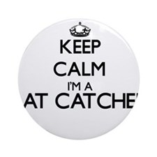 Keep calm I'm a Rat Catcher Ornament (Round)