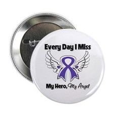 "Pancreatic Cancer Miss Hero 2.25"" Button"