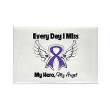 Pancreatic Cancer Miss Rectangle Magnet (10 pack)
