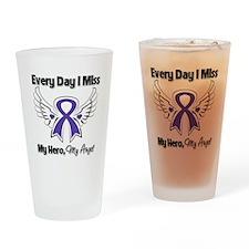 Pancreatic Cancer Miss Hero Drinking Glass