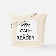 Keep calm I'm a Reader Tote Bag
