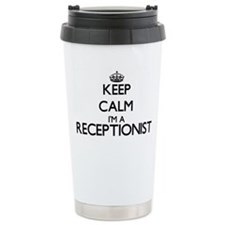 Keep calm I'm a Recepti Travel Mug
