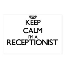 Keep calm I'm a Reception Postcards (Package of 8)