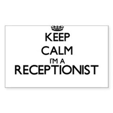 Keep calm I'm a Receptionist Decal