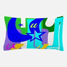 Initial Design (U) Pillow Case