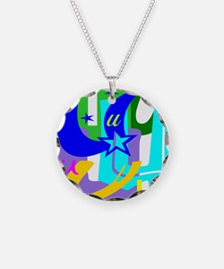 Initial Design (U) Necklace