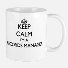 Keep calm I'm a Records Manager Mugs