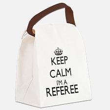 Keep calm I'm a Referee Canvas Lunch Bag