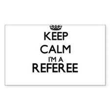 Keep calm I'm a Referee Decal