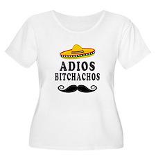 Adios Bitchachos Plus Size T-Shirt