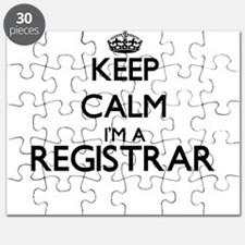 Keep calm I'm a Registrar Puzzle