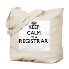 Keep calm I'm a Registrar Tote Bag