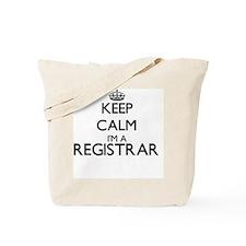 Keep calm I'm a Registrar Tote Bag