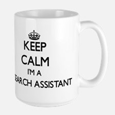 Keep calm I'm a Research Assistant Mugs