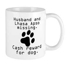 Husband And Lhasa Apso Missing Mugs