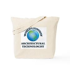 World's Funniest Architectural Technologi Tote Bag