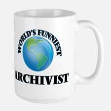 World's Funniest Archivist Mugs