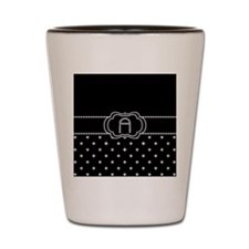 DIAMOND INITIALS: A Shot Glass