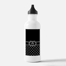 DIAMOND INITIALS: A Water Bottle