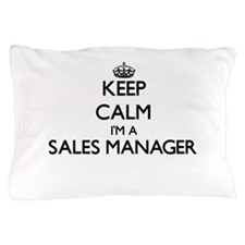 Keep calm I'm a Sales Manager Pillow Case