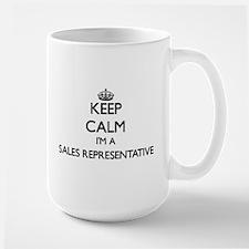 Keep calm I'm a Sales Representative Mugs