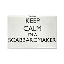 Keep calm I'm a Scabbardmaker Magnets