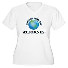 World's Funniest Attorney Plus Size T-Shirt