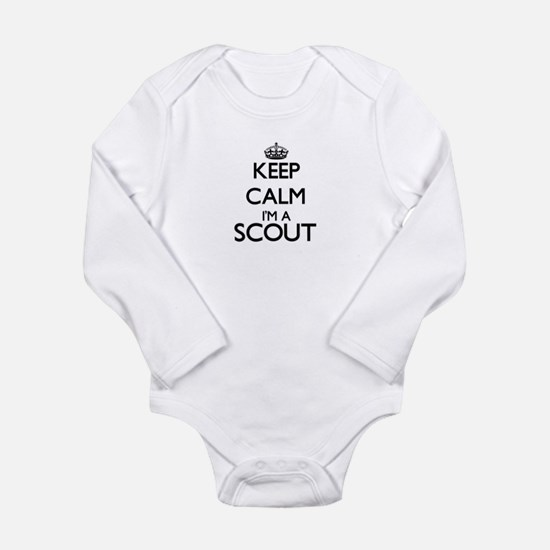 Keep calm I'm a Scout Body Suit