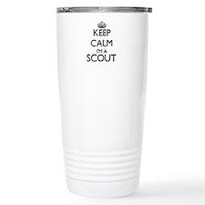 Keep calm I'm a Scout Travel Mug