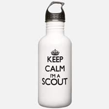 Keep calm I'm a Scout Water Bottle