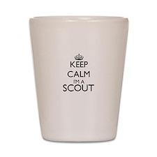 Keep calm I'm a Scout Shot Glass