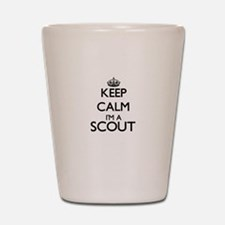 Keep calm I'm a Scout Shot Glass