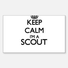 Keep calm I'm a Scout Decal