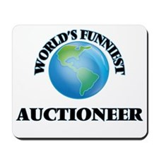 World's Funniest Auctioneer Mousepad