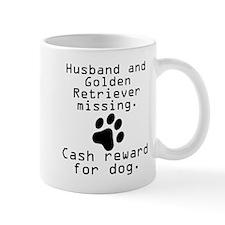 Husband And Golden Retriever Missing Mugs