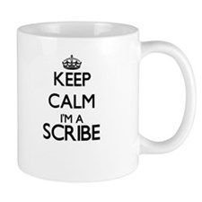 Keep calm I'm a Scribe Mugs